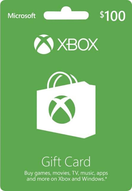 Xbox Gift Card $100 US (Email Delivery) $90