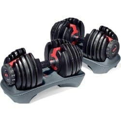 Bowflex SelectTech 552 Adjustable Dumbells, Stand, and Bench $259.99 at Amazon w/ Free Shipping