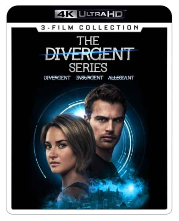 4K/UHD Bluray Film Collections (Divergent, Expendables, John Wick, Now You See Me, Red) $15 or less B&M only at Target