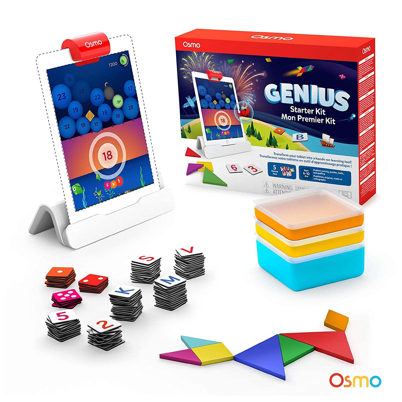 Osmo Genius Starter Kit for iPad $59.99, Creative Starter Kit for $41.99 AC $55.99