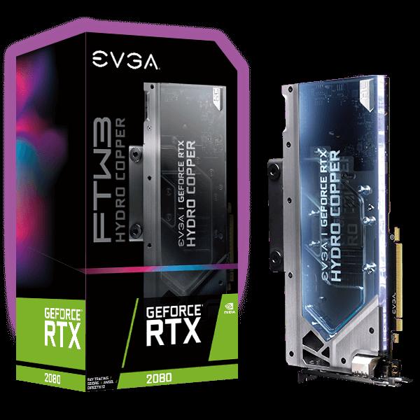 EVGA GeForce RTX 2080 FTW3 Ultra Hydro Copper GAMING 8GB GDDR6 Graphics Card $669.99 + Free S&H w/ Prime, $649.99 w/ Rebate