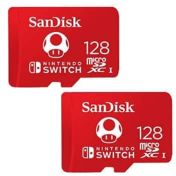 SanDisk  microSDXC Card for the Nintendo Switch, 2-pack - $39.99