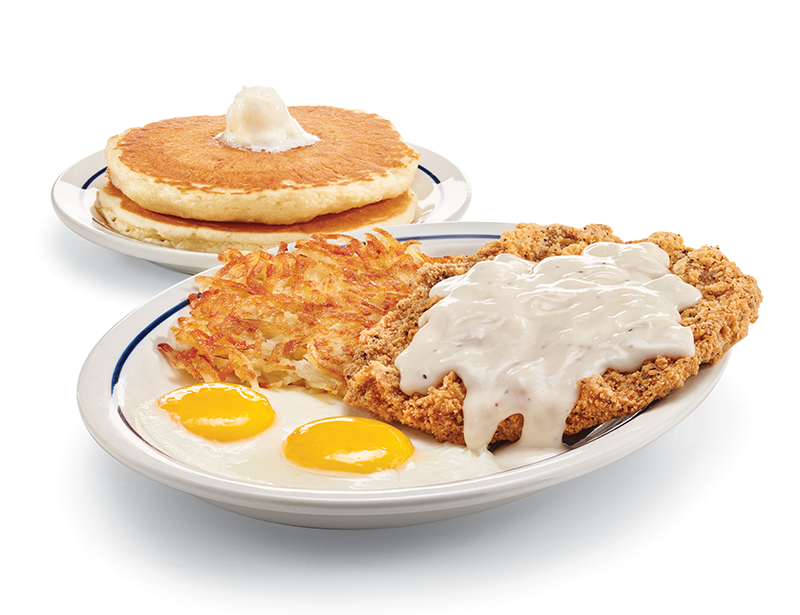 IHOP Dine-In Offer: All You Can Eat Buttermilk Pancakes $4.99 (Per Person)