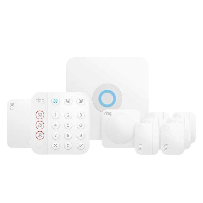 Costco Ring 10-piece Wireless Security Alarm Kit $50 off - $179.99 - $179.99