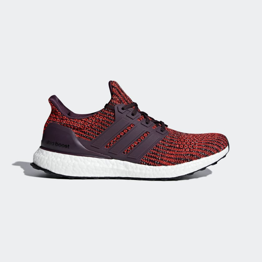 db71e50e723 Adidas Men s Ultra Boost Running Shoes (Noble Red Black ...