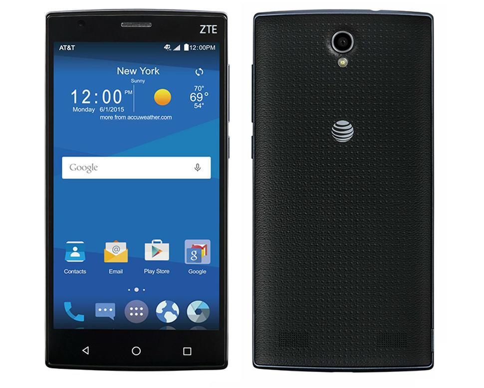 AT&T ZTE Zmax 2 Prepaid Smartphone $25 at Walmart YMMV B&M