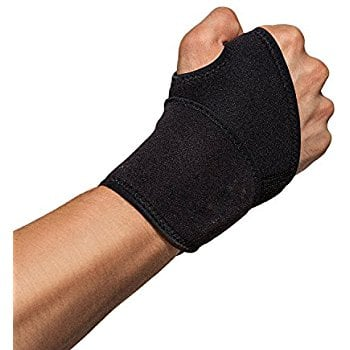 Wrist Brace, Adjustable Wrist Support, One Size Adjustable Fitted, Highest Copper Content(Black) $1.95