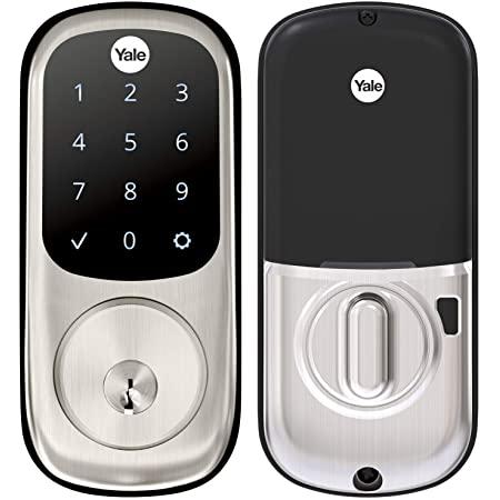 Yale Assure Lock Touchscreen Wi-Fi Smart Lock, Satin Nickel (YRD226-CBA-619) $156.55 @ Amazon