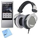 64GB Astell & Kern AK Jr Portable HD Music Player + Beyerdynamic DT880 Premium 32 OHM Headphones $599 + free shipping