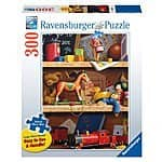 Ravensburger Toy Shelf 300 Piece Large Format Puzzle $4.02 *Add-on item at Amazon*