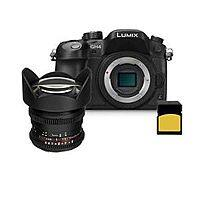 B&H Photo Video Deal: Panasonic Lumix DMC-GH4 Digital Camera (Body) Black With Rokinon 14mm T3.1 Cine Lens $1750 + Free Shipping