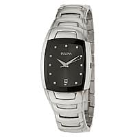 Ashford Deal: Bulova Men's Classic Stainless Steel Watch (96G46) $69 + Free Shipping