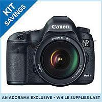 Adorama Deal: Canon Canon EOS 5D Mark III SLR Camera W/ Canon EF 24-105L Lens + Printer + $147 Rewards & More $3099 + FS AR
