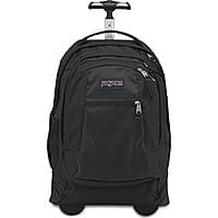 BuyDig Deal: JanSport Driver 8 Wheeled Backpack (Black) $64.99 + Free Shipping