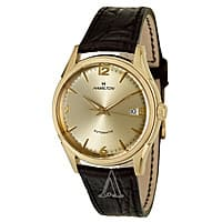 Ashford Deal: Hamilton Timeless Classic Thin-O-Matic Auto Men's Watch w/ Leather Band (H38435721) $418 + Free Shipping