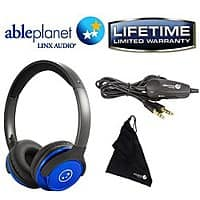 BuyDig Deal: Able Planet SH190 Travelers Choice Stereo Headphones w/ Detachable Cable & Volume Control (Various Colors) $20 + FS