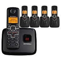 Motorola L705 5-handset Dect 6.0 Cordless Phone with Caller Id & Digital Answering System $  49.99 + FS W/ Visa Checkout