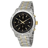 Ashford Deal: Seiko Men's Chronograph Stainless Steel Two-tone Mens Watch (SKS425) $68 + Free Shipping AC