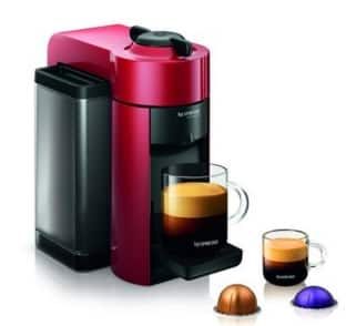 Nespresso Vertuoline Evolu GCC1 Espresso Maker/Coffee Maker (Grey or Red) $99 + Free Shipping