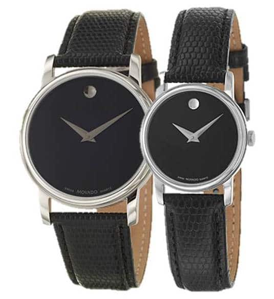 Movado Men's or Women's Museum Watch w/ Leather Strap $179 + Free Shipping