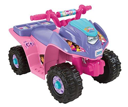 Power Wheels Nickelodeon Dora & Friends Lil Quad 6-Volt Ride-On $45 + Free Prime Shipping @ Amazon