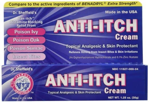 Dr. Sheffield 1.25oz Anti-Itch Cream with Histamine Blocker $0.88 + Free Shipping (Prime Members Only)