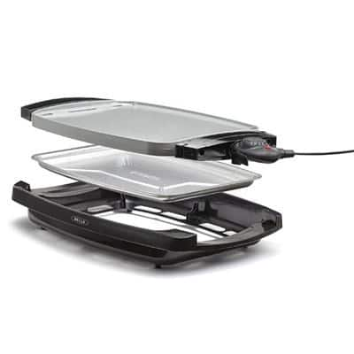 BELLA 2-in-1 Reversible Grill Griddle Combo $39.99 + Free shipping