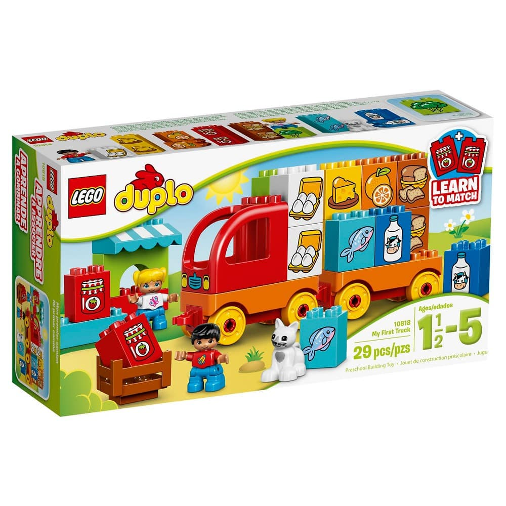 LEGO DUPLO My First Truck 10818 $11 w/ Free Prime Shipping @ Amazon