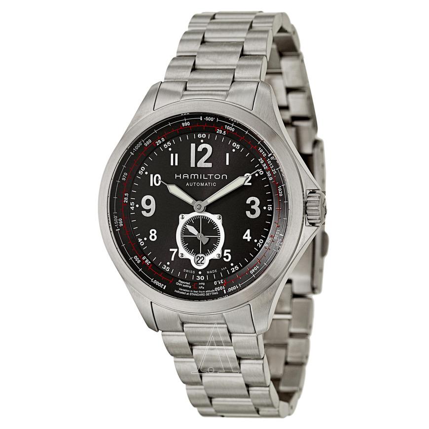Hamilton Men's Khaki Aviation QNE Automatic Watch (H76655133) $399 + Free Shipping AC