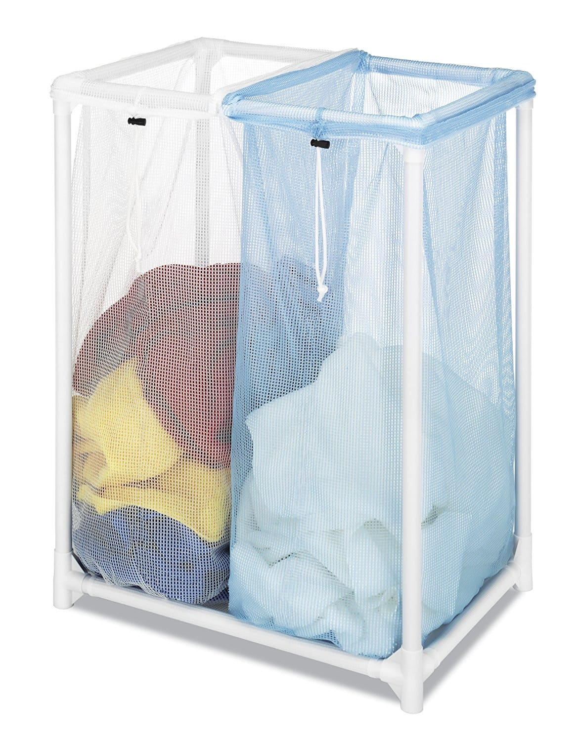 Whitmor Double Laundry Sorter $8.50 w/ Walmart pickup or Prime Shipping @ Amazon