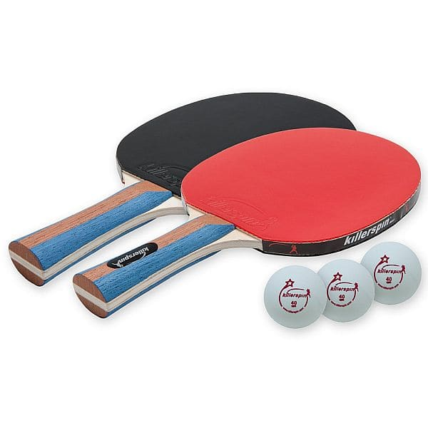 Killerspin Jetset 2 Table Tennis Paddle Set with 3 Balls $21