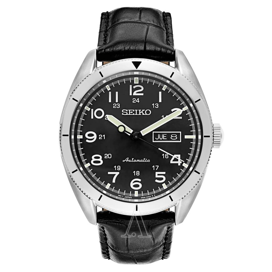 Seiko Men's Core Automatic Watch w/ Leather Strap (SRP715) $139 + Free Shipping