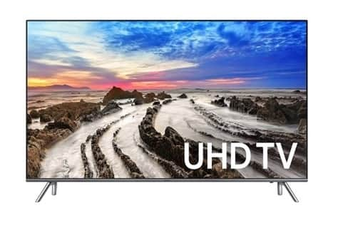 "Samsung MU8000 4K TV's: 48"" $698, 55"" $898, 65"" $1,298. + 1-Year Extended Warranty + FS (Authorized Dealer)"