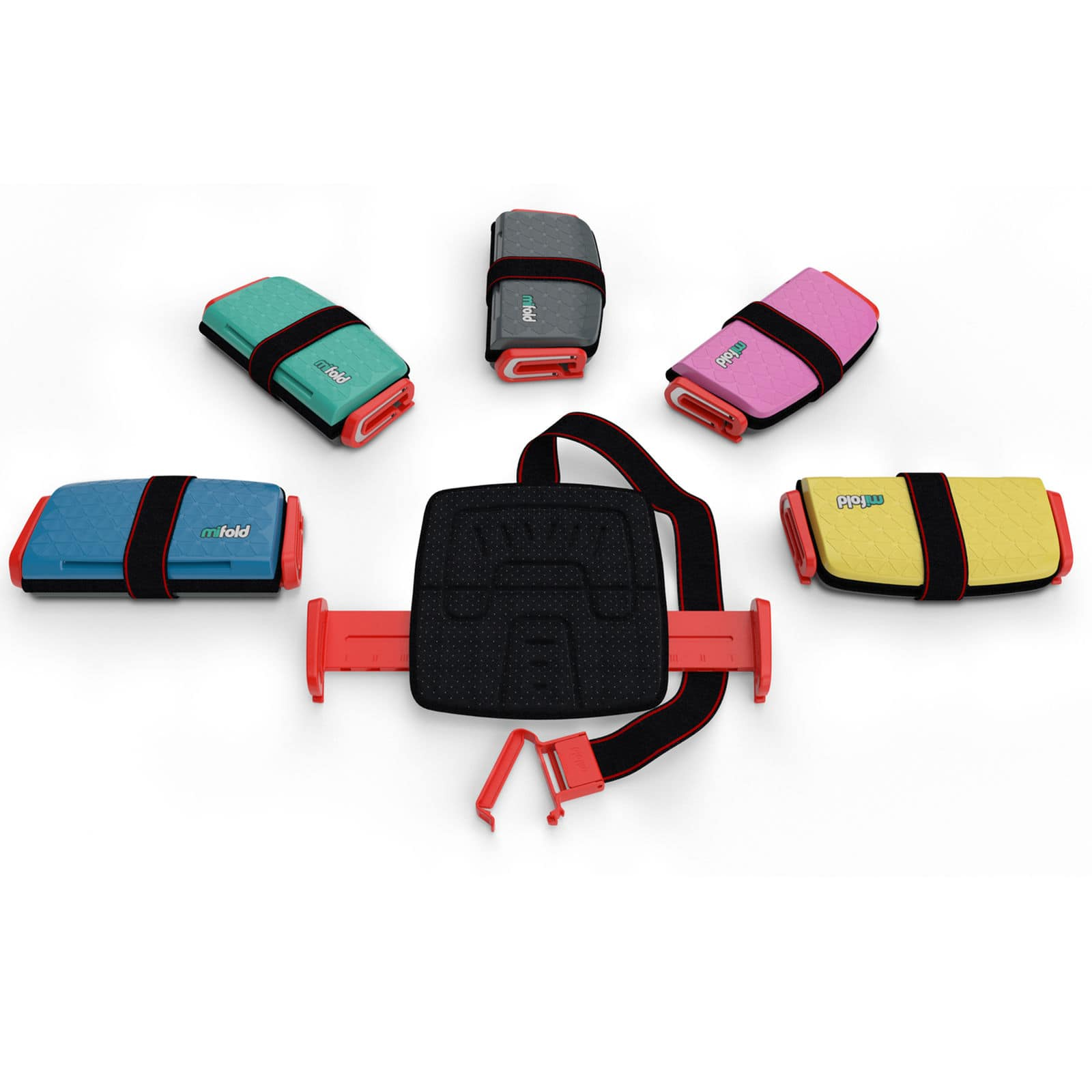 2-Pack of Mifold Grab-and-Go Car Booster Seat (Various color options) $65 + Free shipping