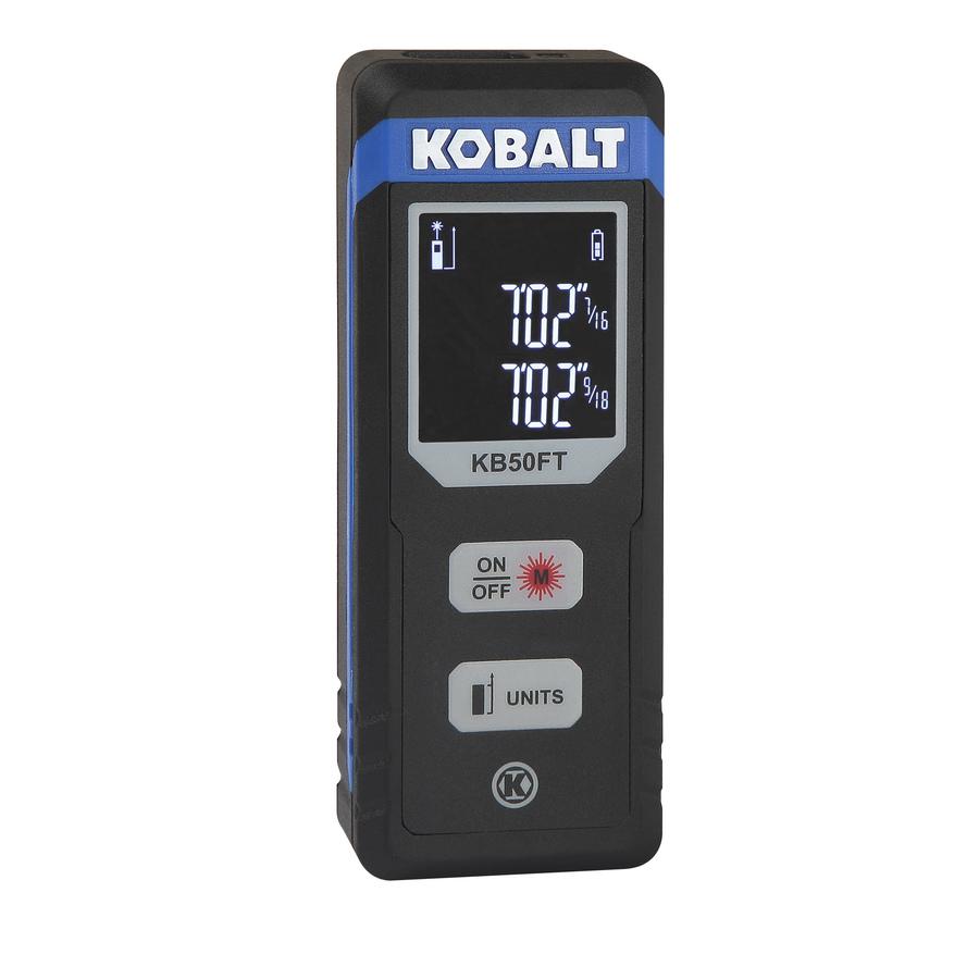 Kobalt 50ft Laser Distance Measurer $20 w/ free pickup @ Lowes $19.98