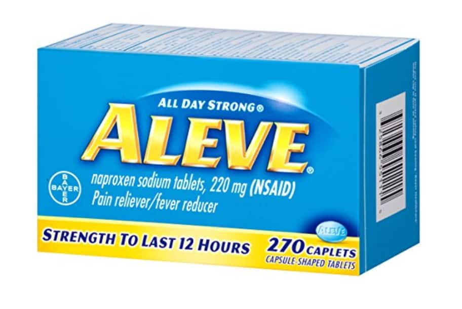 270-Count Aleve Caplets with Naproxen Sodium $6.00 AC *Add-on Item* @ Amazon