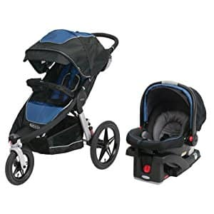 Graco Relay Travel System (Relay Jogging Stroller + Click Connect 35) $198 + free shipping AC
