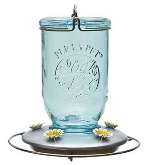 Perky-Pet 785 Mason Jar Hummingbird Feeder $3.13 *ADD-on Item @ Amazon