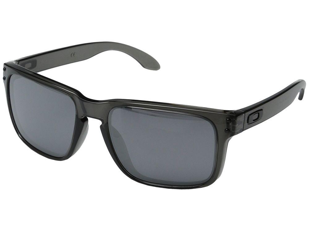 Oakley Holbrook Sunglasses w/ Smoke Grey Frame and Black Iridium Lens $60 + free shipping