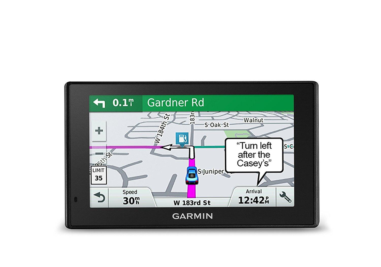 "Refurb Garmin DriveSmart 50 LMT 5"" GPS w/ Lifetime Maps & Traffic, Smart Notifications, Voice Activation, & Driver Alerts $65 w/ FS"