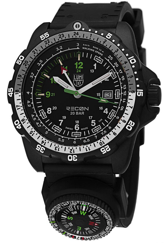 LuminoxRecon NAV SPC Compass GMT Watch $149.51, Luminox Men's EVO Navy Seal Colormark 3050 Series Watch $110 + FS & More