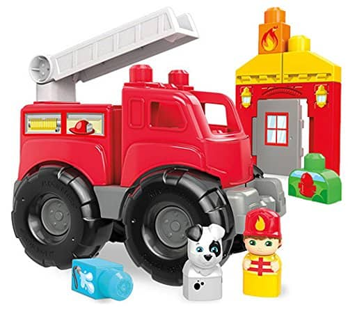 Mega Bloks Fire Truck Rescue Building Set $5.97 *Add-on Item @ Amazon