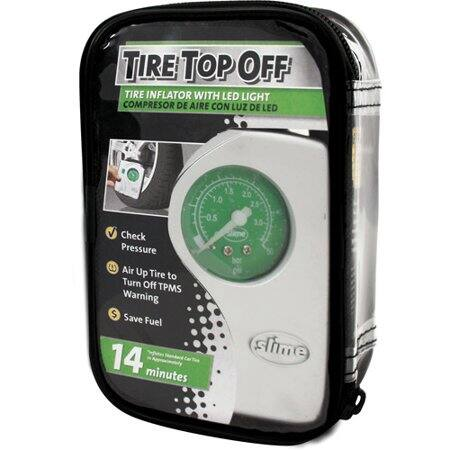 Slime 40020 Tire Top Off Inflator $4.49 *add-on item at Amazon