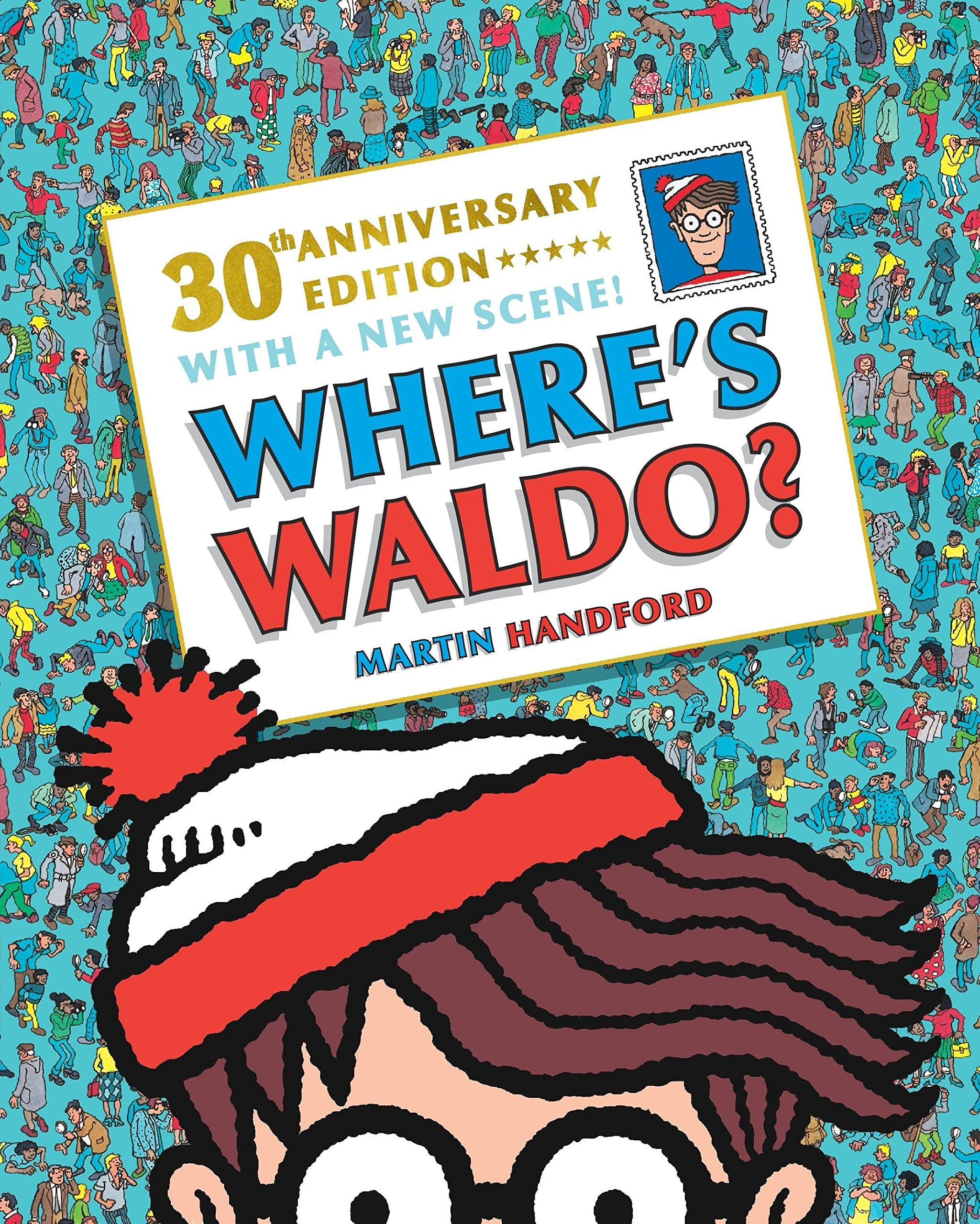 Where's Waldo? 30th Anniversary Edition (Paperback) $3.99 w/ Prime shipping (In stock 9/27)