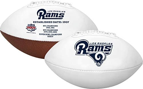 Rawlings NFL Signature Series Team Full Size Football (Rams) $8.97 w/ Prime shipping