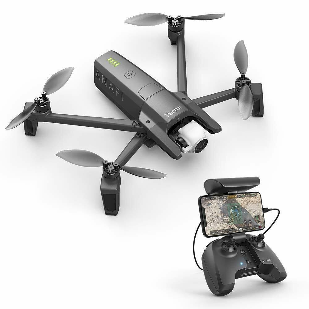 Parrot Anafi 4K HDR Quadcopter Drone w/ Parrot Skycontroller (Refurbished) $400 + free shipping