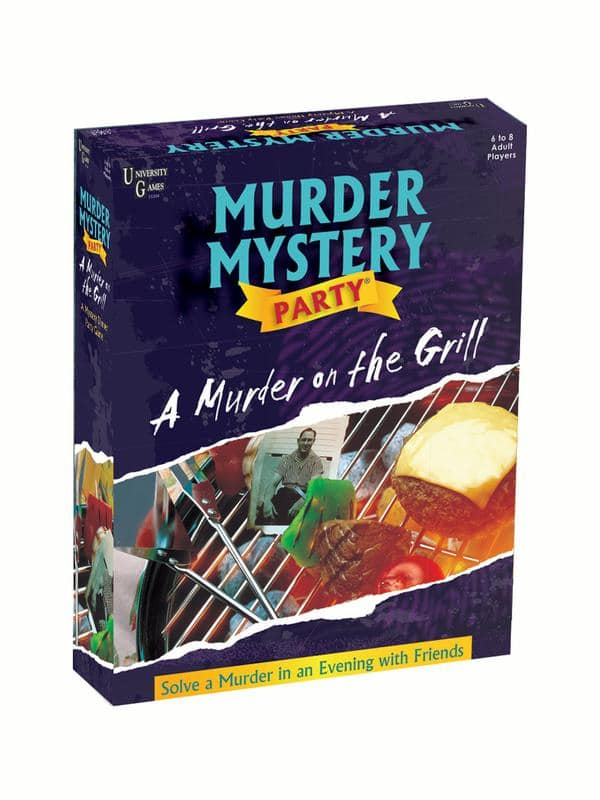 Murder Mystery Party Games - A Murder on the Grill $6.83 @ Amazon / Walmart