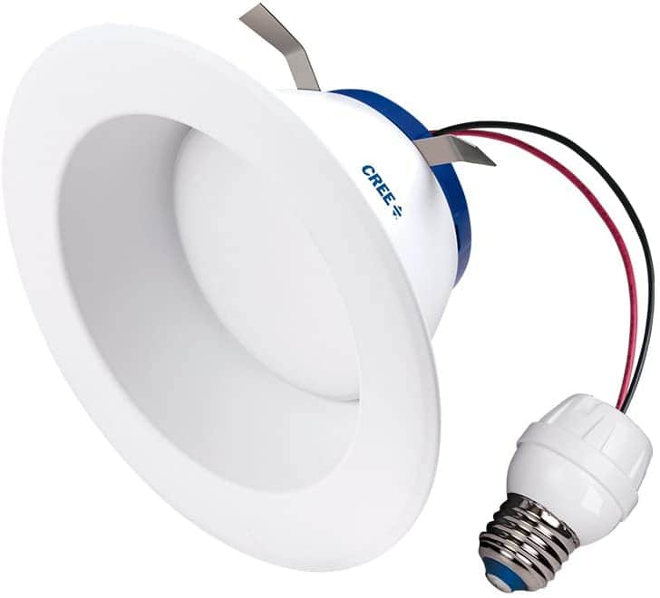 "Cree Led 6"" Retrofit Recessed Downlight 65W Replacement Daylight (5000K) $4.74 w/ Prime shipping"