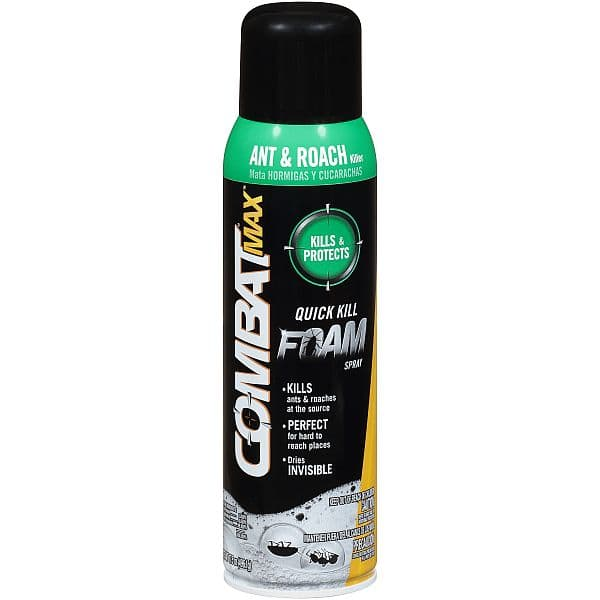 Combat Max Ant & Roach Quick Kill Spray - $4.50 - FREE After MIR