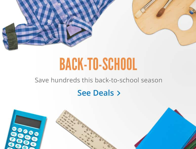 Top 2016 Back to School Deals - Clothes, Travel, School Supplies